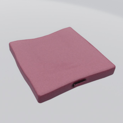Floor Cushion With Handle Pink