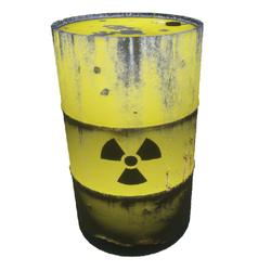 Radioactive barrel (old)