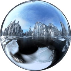 Icescape Glass Ground (Bright) Skybox