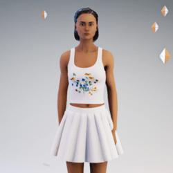 T with Skirt #2 For 2.0 Av