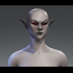 Female dunmer avatar