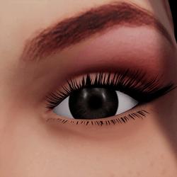 Angela Add-On Eyes - Onyx Black