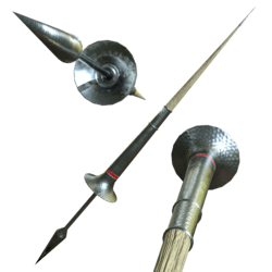 Medieval Lance Red