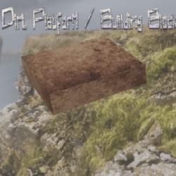 Dirt Platform / Building Block (square)