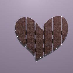 Heart Wood Light