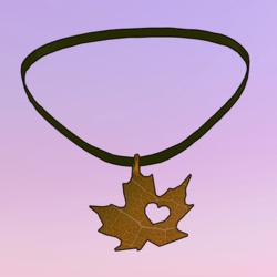 Leaf Choker Yellow
