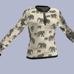 Ladies Elephant Blouse