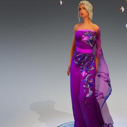 Sari Gown#1