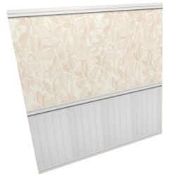 Wallpaper Flower with panel