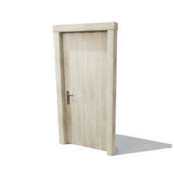 DoorSet A [Light wood]