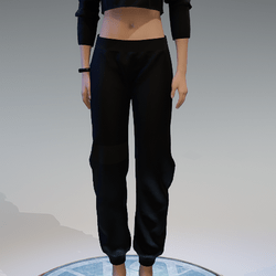 Basic Black Sweatpants