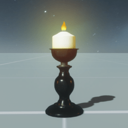 Candle With Fire_Short