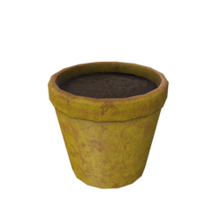 Flower Pot - Yellow