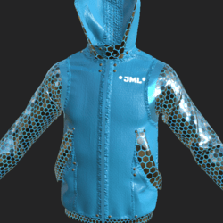 BOS JACKET EMISSIVE LIGHT BLUE