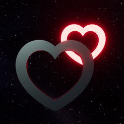 LIGHT STAMP - Heart