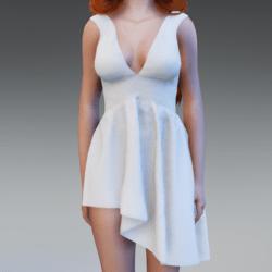 SephoniDress - White