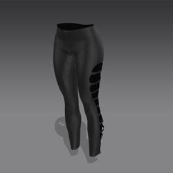 Electra Pants - Black (MsAquaria)