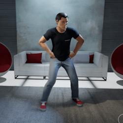 MC Hammer Dance (Male)