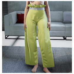 Loose Pants Yellow