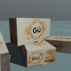 GU Cheese Cake Carton