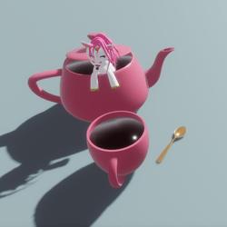 Unicorn In Tea Pot