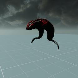 Demon Horns Male Skeleton