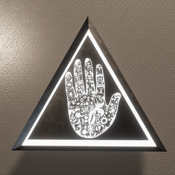 THE HAND OF LUCK - WALL LIGHT/DECORATION(Scriptable)