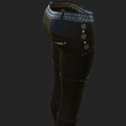 ODARA PANTS BLACK