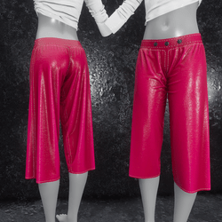 Culottes Leather pink