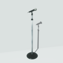 Stage Microphone & Stand