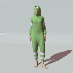 Green Onesie