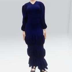 Ruffle Dress (TM)