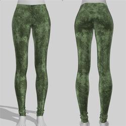 Leggings Maddy Grunge Green