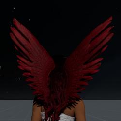 Wings Red Female
