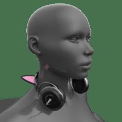 Headphones Demo (Neck)