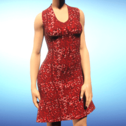 Free Red Sequin Dress from ACpixl