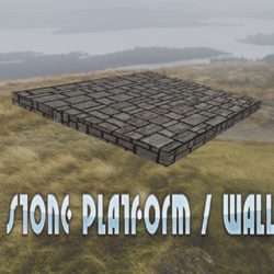 Stone Platform / Wall / Building Block