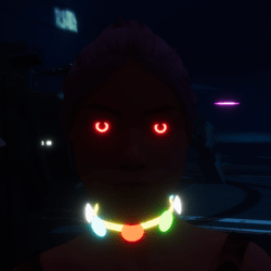 Female go-GLOW Red Eyes