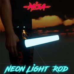 Neon Light Rod | Sky Blue