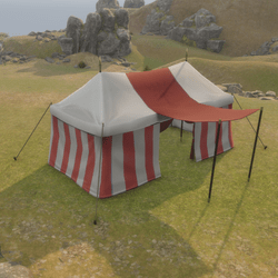Large Tent Red