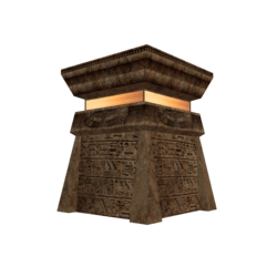 Egyptian Style Pedestal