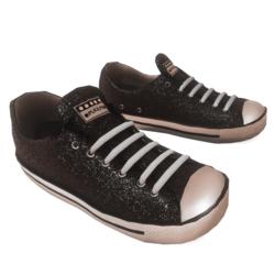 Glitter Sneakers black