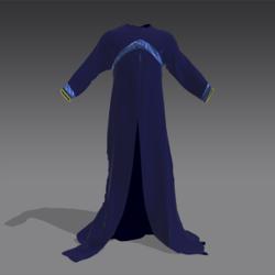 Elven Wizard Costume V1 2 of 1 Garmets