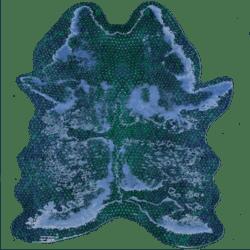 Skin Rug Blue Dragon