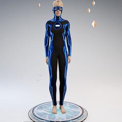 Ultimate Disc Gamesuit (base blue female)