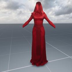Red High Priestess Costume