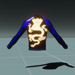 Dragon Jacket Blue/Black