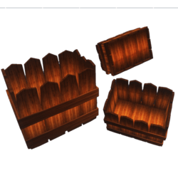 Wooden Plants Pot