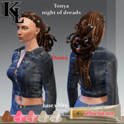 Tonya-night for dreads -demo