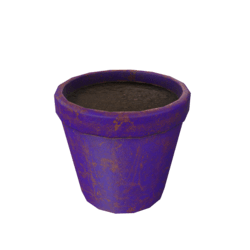 Flower Pot - Purple